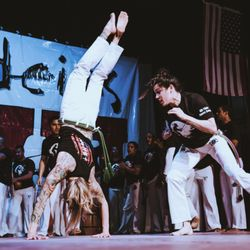 types of capoeira