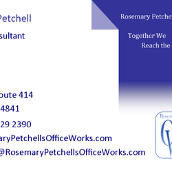 Rosemary petchells office works get quote web design 5888 photo of rosemary petchells office works hector ny united states this is reheart Images