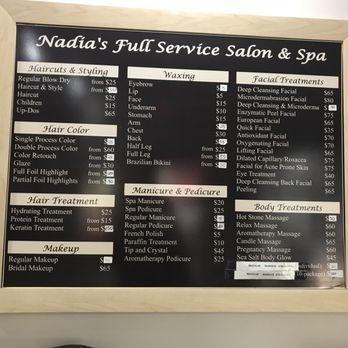 Nadia S Full Service Salon Spa Newark Nj