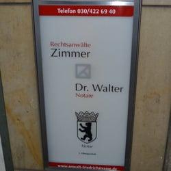 Kanzlei Zimmer - Notaries - Friedrichstr  154, Mitte, Berlin