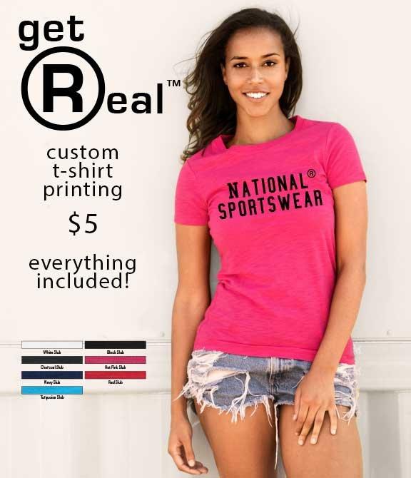 National sportswear screen printing t shirt printing for T shirt printing in charlotte nc