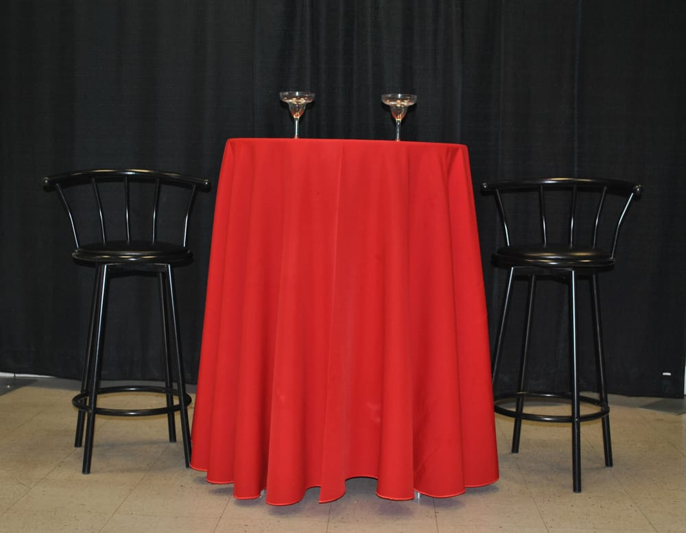 This is our cocktail tall table we also rent those bar for Rent cocktail tables near me
