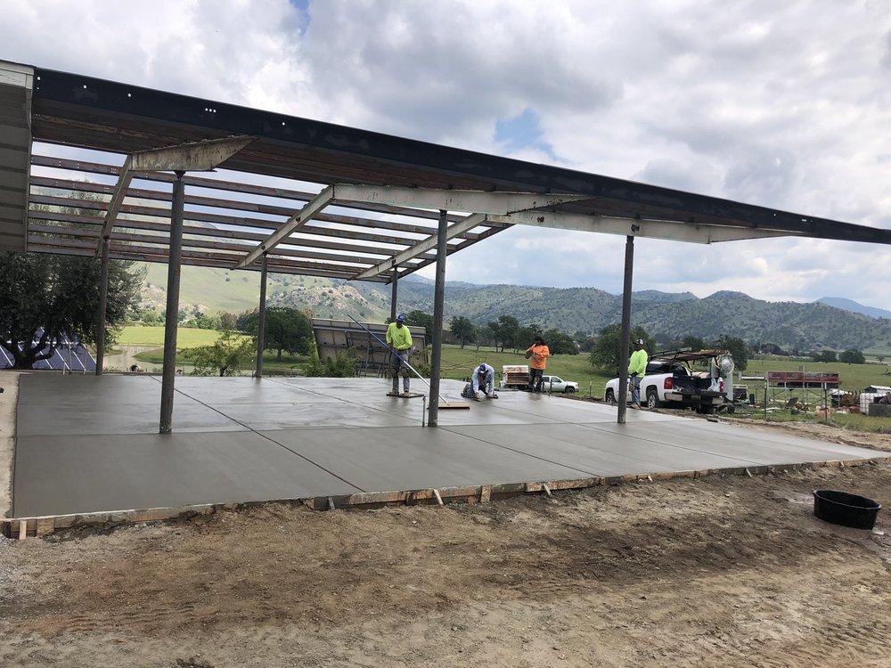 Cristobal Concrete Construction: Fresno, CA