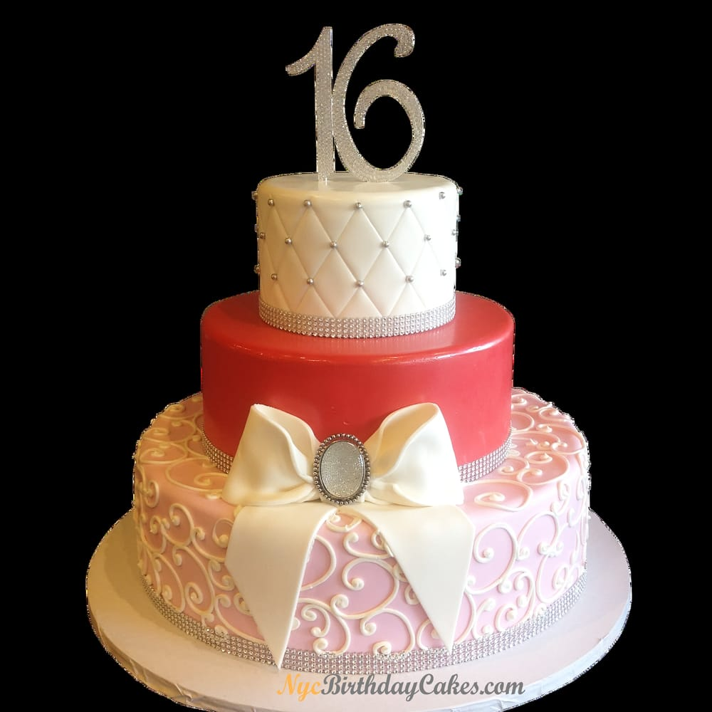 Elegant Sweet Sixteen Cake Best Cakes In Nyc Http