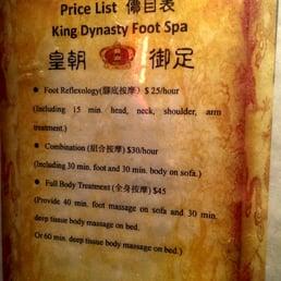 King Dynasty Foot Spa Seattle Wa