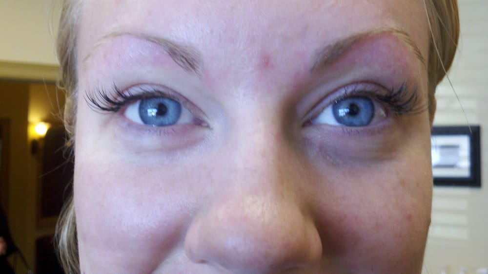 Our Flirty Set Of Lash Extensions Corners Only Yelp