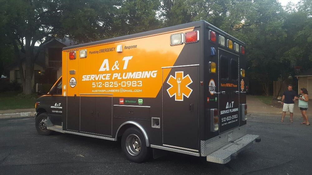 A&T service plumbing
