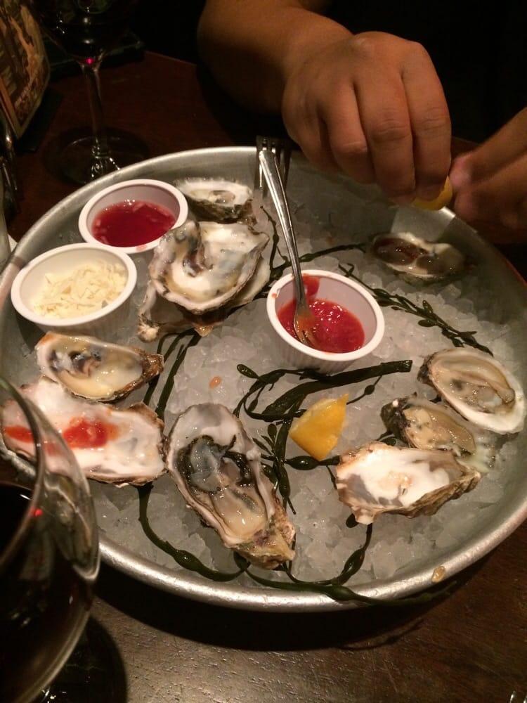 Oyster sampler platter 12 yelp for King s fish house laguna hills