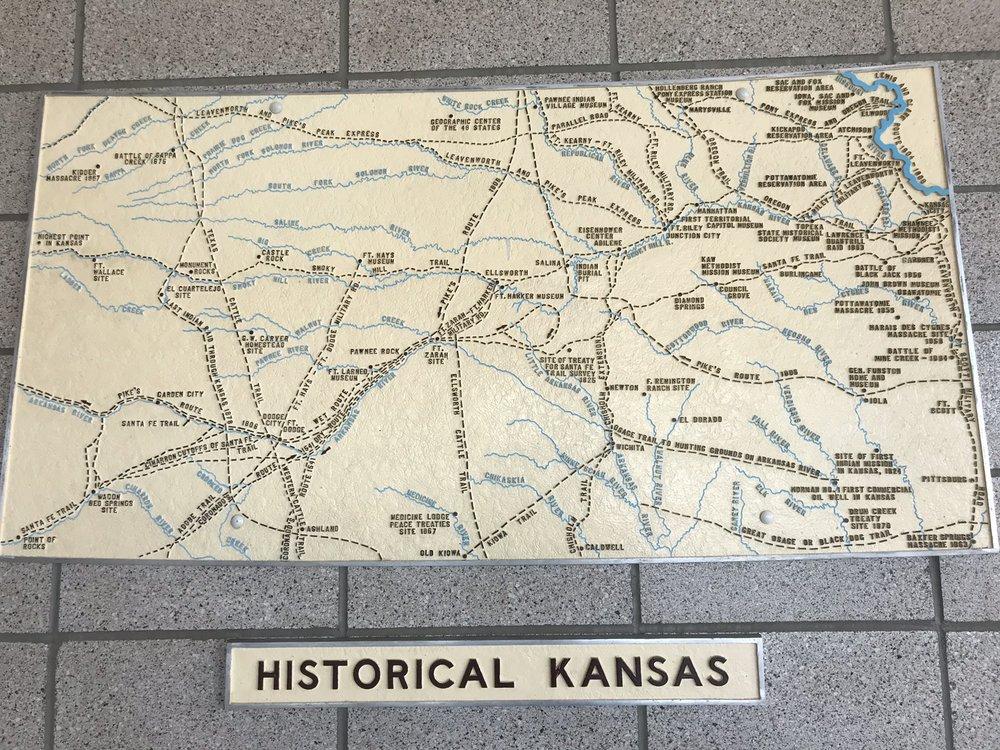 Kansas Travel Information Center: I-70 E Milepost 7, Goodland, KS