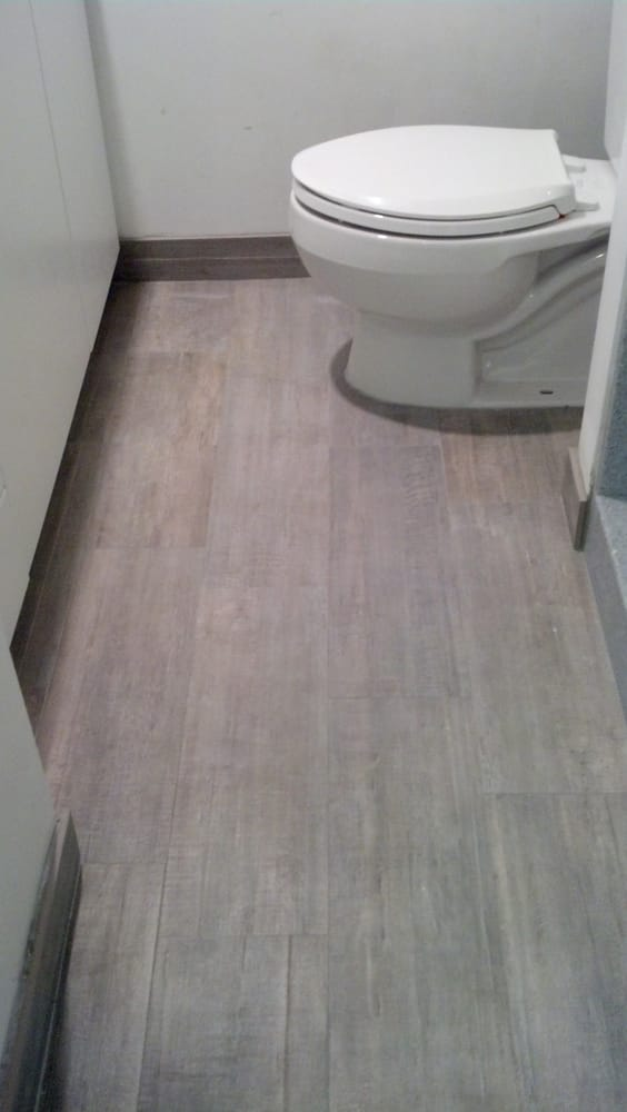 Ceramic Tile That Looks Like Wood I Chose The Light Gray For My