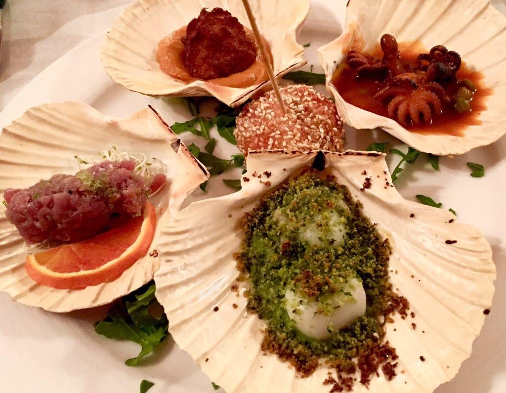 La rosa dei venti 12 foto piatti a base di pesce via for La casa rosa milano