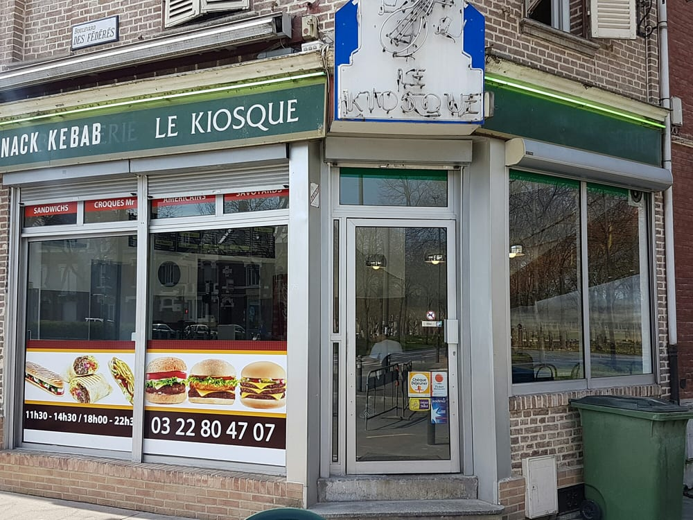 le kiosque fast food 75 bd des f d r s amiens. Black Bedroom Furniture Sets. Home Design Ideas