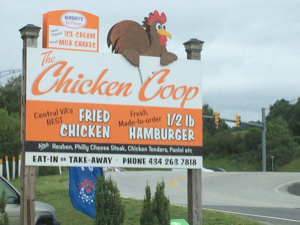 Chicken Coop: 40 Front St, Lovingston, VA