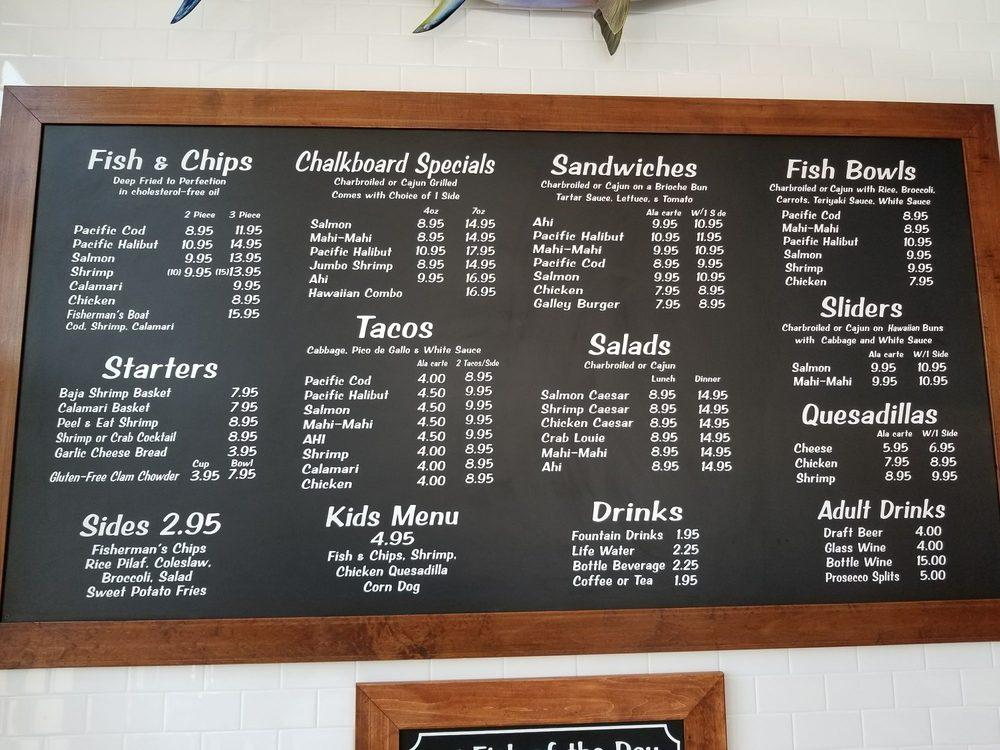 Menu yelp for Little fish menu