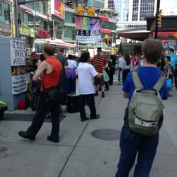 Jesus Guy At Dundas Square 58 Reviews Local Flavour Yonge Street And Dundas Street Ryerson Toronto On Yelp