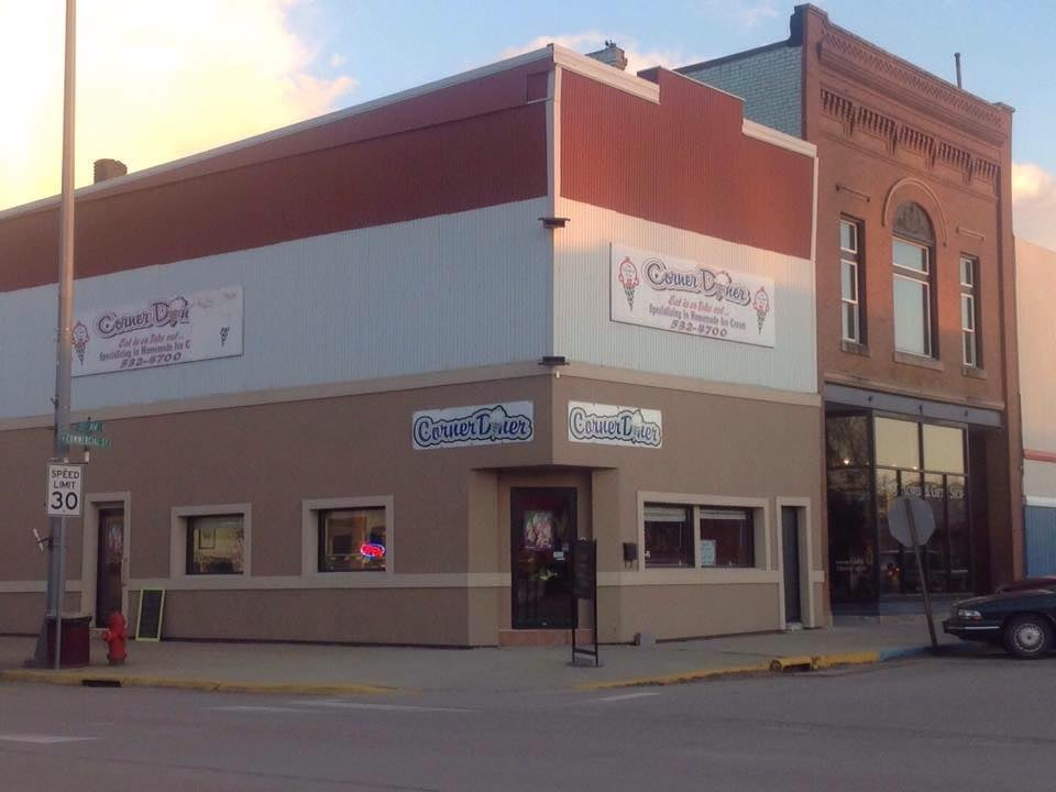 The Corner Diner: 100 N Commercial St, Clark, SD