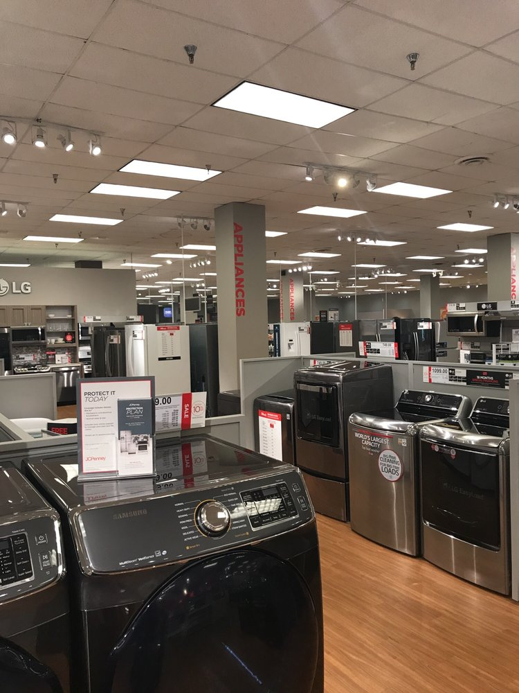 Appliance Showroom Jcpenney North East Mall Ge Lg