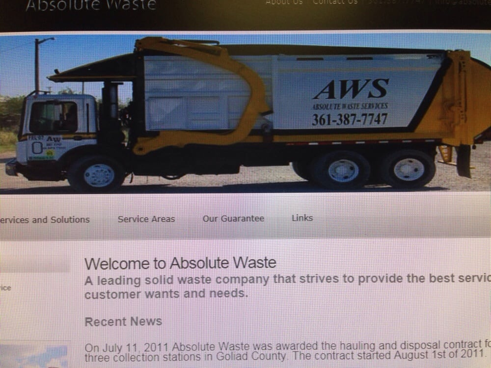 Absolute Waster Services: 900 Lincoln Ave, Robstown, TX