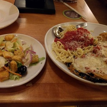 photo of olive garden italian restaurant houston tx united states eggplant parmesan - Olive Garden Houston