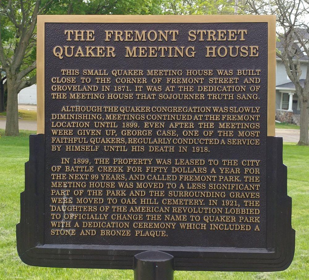 Quaker Park: 135 Fremont St, Battle Creek, MI