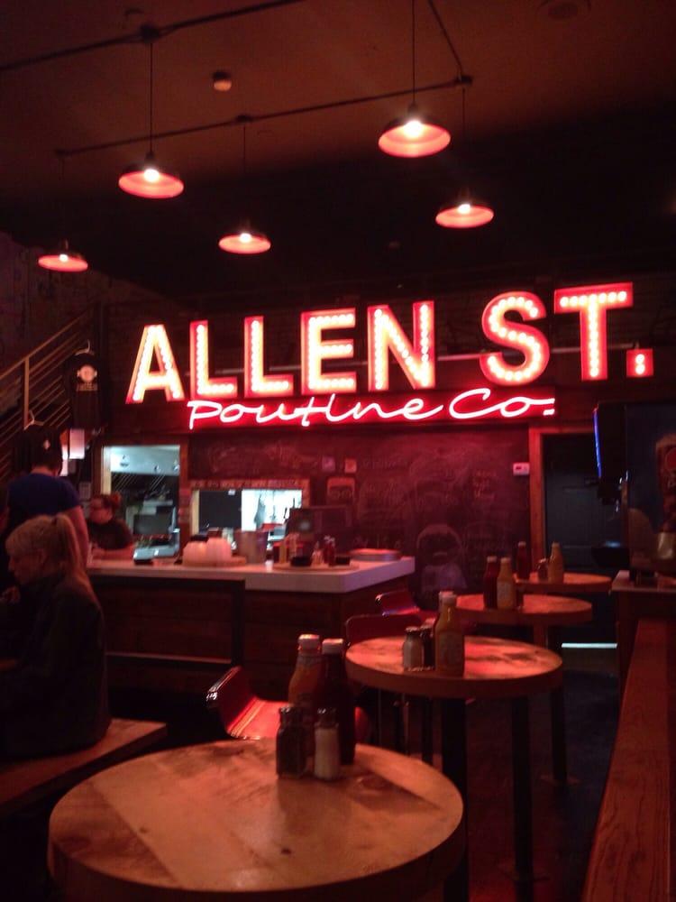 Allen Street Poutine Company: 242 Allen St, Buffalo, NY