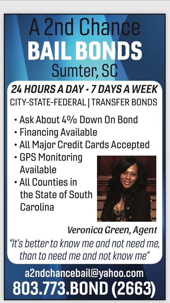 A 2nd Chance Bail Bonds: Sumter, SC