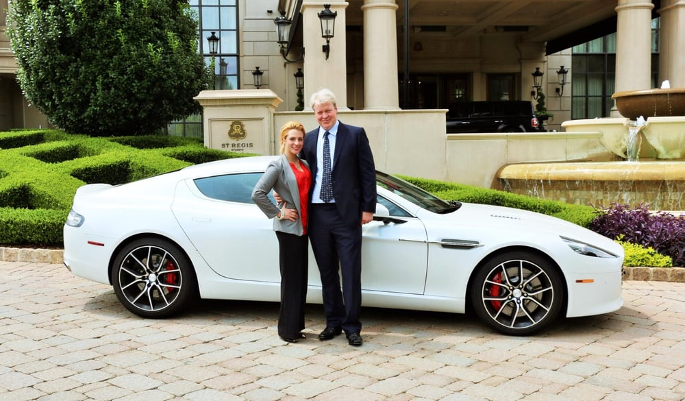 Lord Charles Spencer Chose The Best Of British Luxury To Get Him - Aston martin atlanta