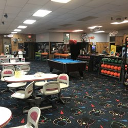 Photo Of Mattoon Lanes Bowling Alley   Mattoon, IL, United States. View From