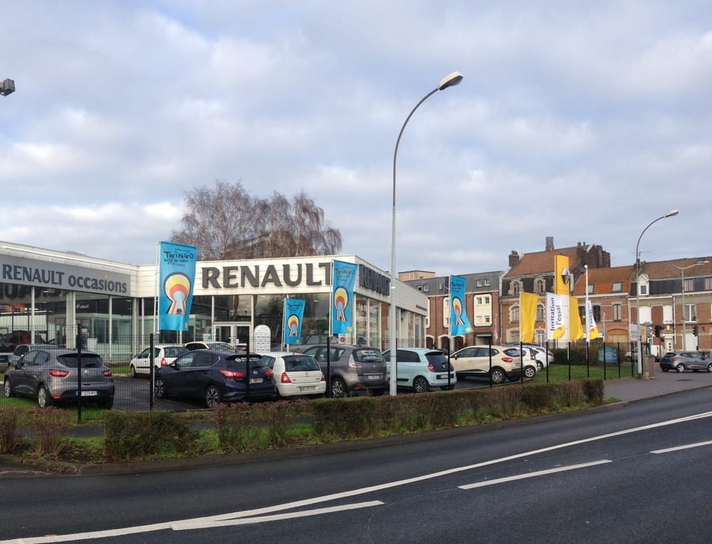 concession renault garage de la lys concesionarios de coches 455 avenue de dunkerque. Black Bedroom Furniture Sets. Home Design Ideas