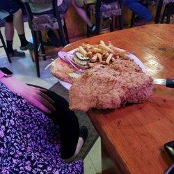 Photo Of Hammer S Bar Restaurant Bartonville Il United States Giant Tenderloin