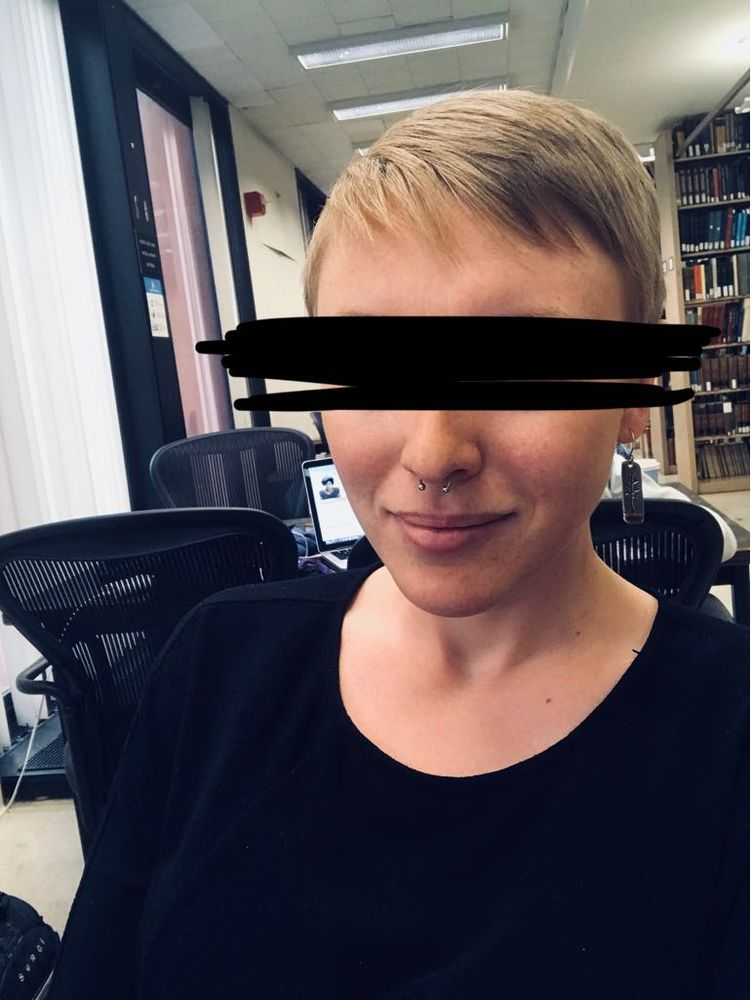 I Showed Marysia A Photo Of Jean Seberg With Short Hair Got Exactly