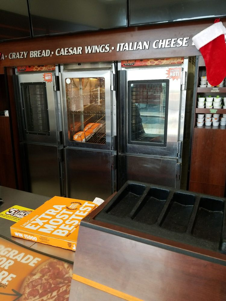 Little Caesars Pizza Delivery in Madera CA Classic pizza that's ready for pickup is the name of the game at Little Caesars Pizza. Read More Classic pizza that's ready for pickup is the name of the game at Little Caesars Pizza.