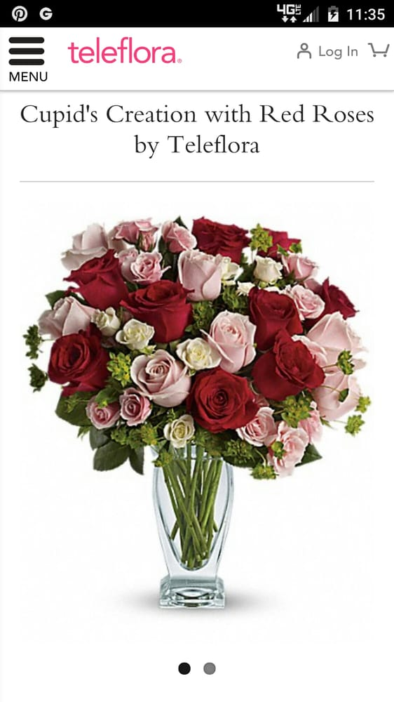 So ordered these pretty flowers from teleflora for my girlfriend yelp photo of park city florist new york ny united states so ordered mightylinksfo