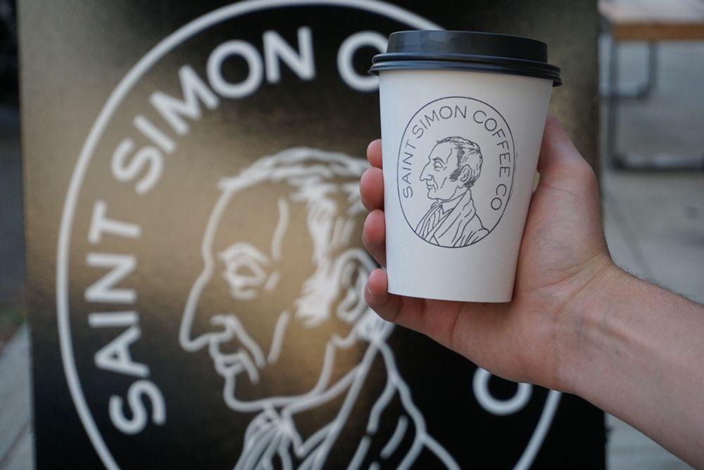 Saint Simon Coffee Co: 2005 NE Broadway, Portland, OR