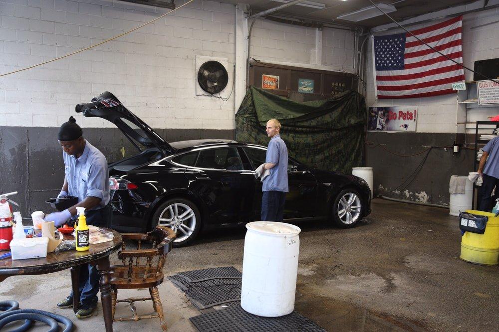 Johny's Spotless Carwash: 401 Union St, Holbrook, MA