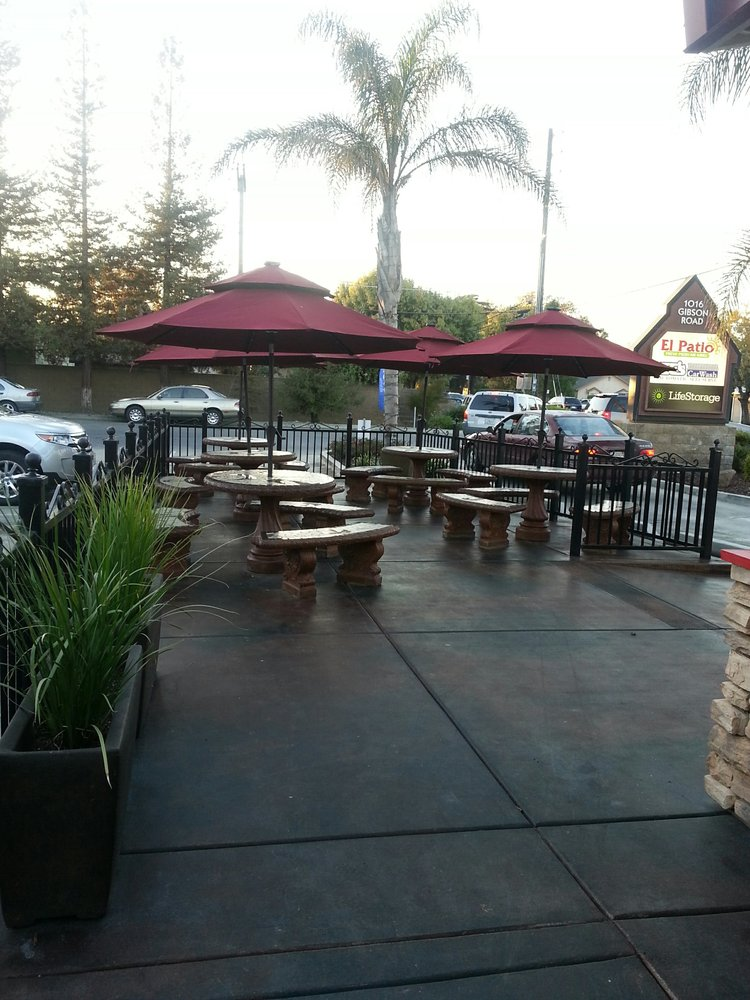 nice outdoor seating area yelp