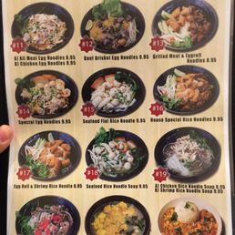 photos for oh noodles asian noodles grill menu yelp