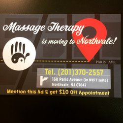 Yin And Yang Massage Therapy Massage Therapy 160 Paris Ave