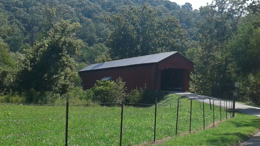 Busching Covered Bridge: E Co Rd 25 S, Versailles, IN