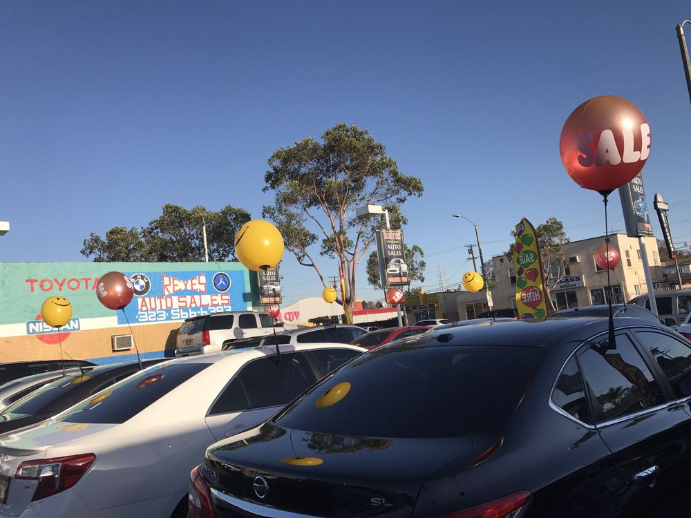 Reyes Auto Sales: 4405 Firestone Blvd, South Gate, CA