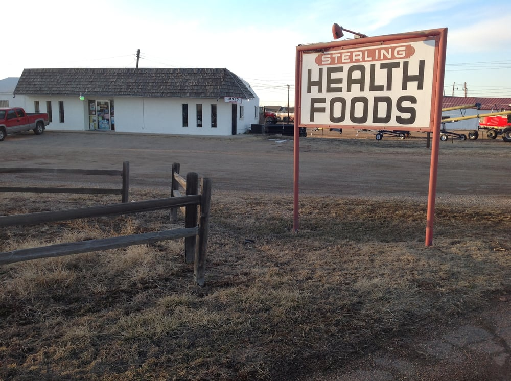 Sterling Health Foods: 18975 Us Hwy 6, Sterling, CO