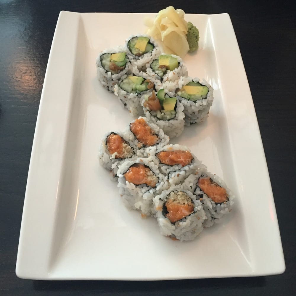 Vegetable spicy crabmeat rolls yelp for Asia sushi bar and asian cuisine mashpee