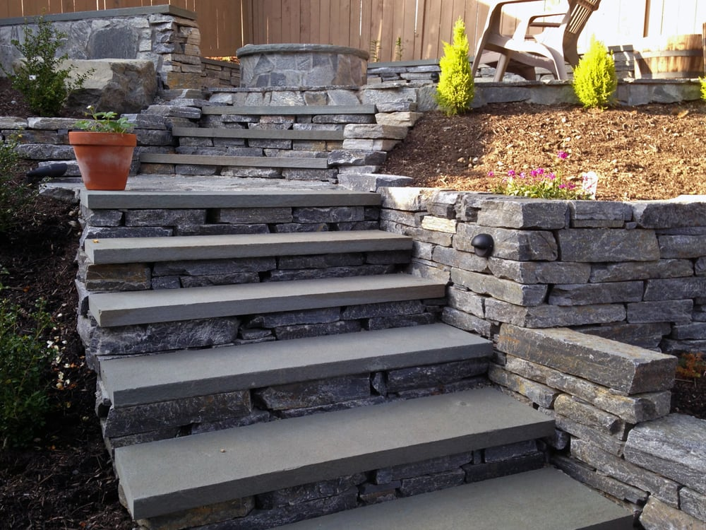 Photo Of Pacific Living Construction   Seattle, WA, United States. Drystack  Steps With