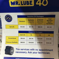 Walmart Oil Change Prices >> Mr. Lube - Oil Change Stations - 7562 Yonge St, Thornhill ...