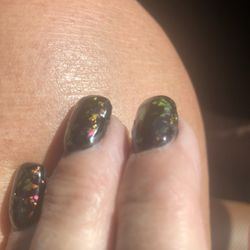 Photo Of Clic Nails Rapid City Sd United States Uneven Fill
