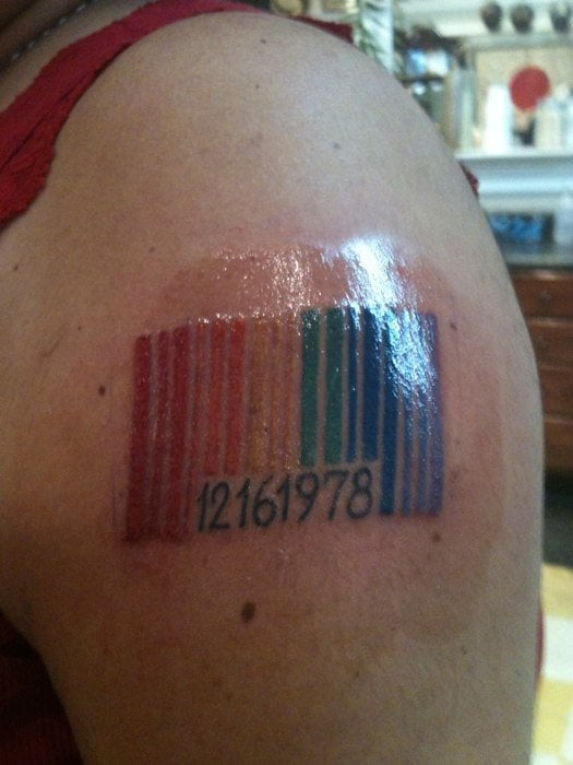 15 Best Barcode Tattoo Designs With Meanings Styles At Life