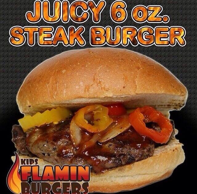 Kips Flamin Burgers