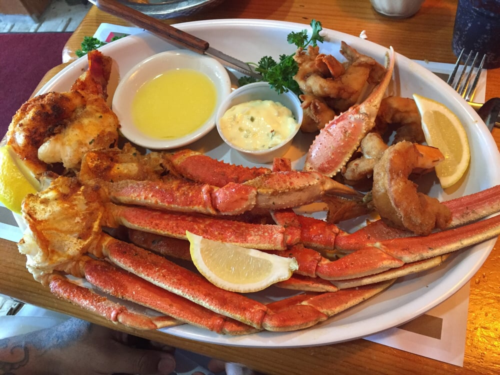 Lobster tail snow crab legs and shrimp yelp for Sammy s fish box