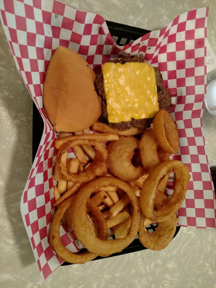Rock-A-Billy Diner: 6807 S York Hwy, Clarkrange, TN