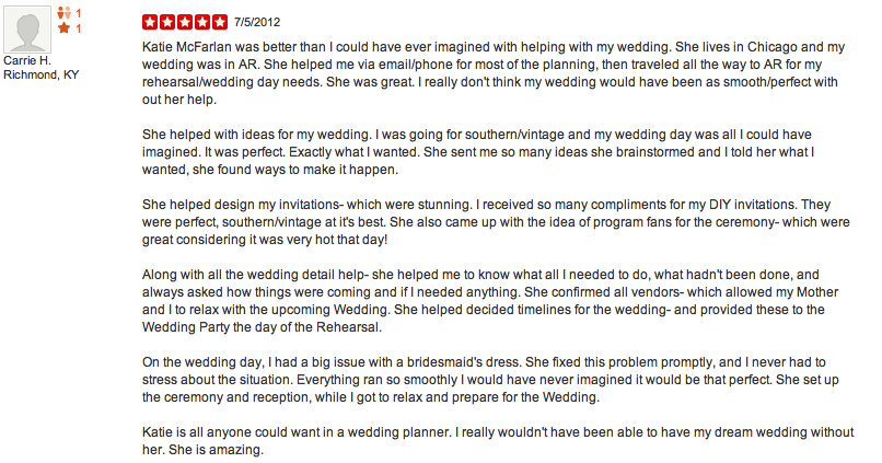 The Savvy Event - Wedding Planning - 1800 N Milwaukee Ave, Logan ...